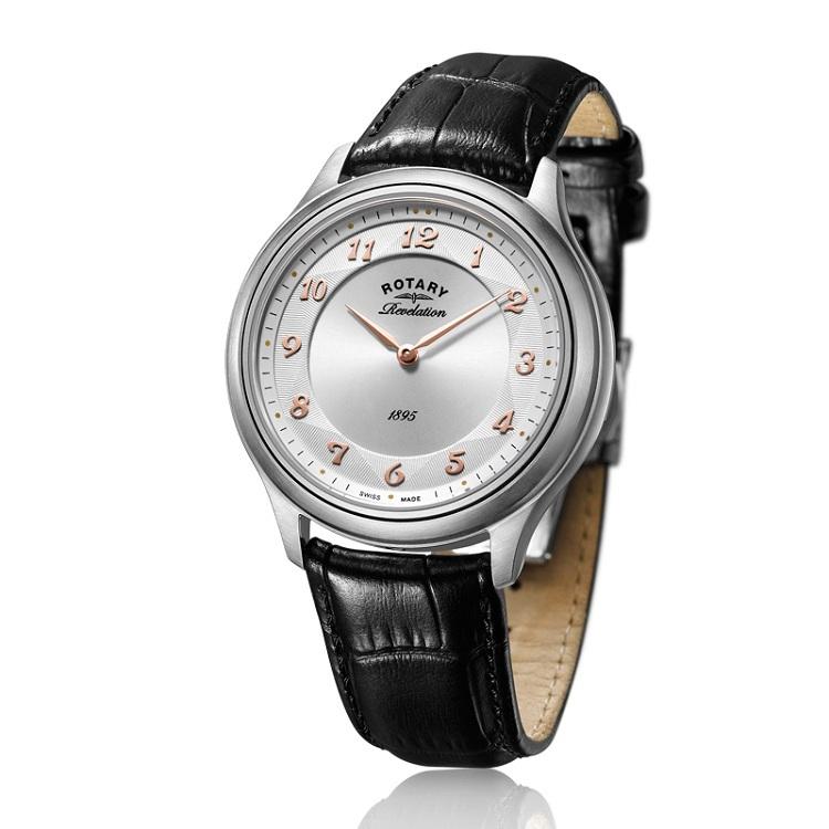 瑞士 劳特莱(Rotary) 旋转系列 男士 石英表 GS02965-04-22