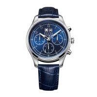 飞亚达(FIYTA)多功能高贵蓝色表盘男士机械手表DG804002.WLL