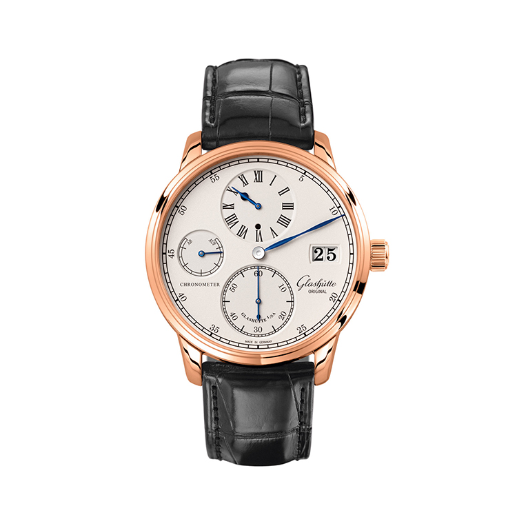 瑞士 格拉苏蒂(Glashütte Original) 精髓系列 男士机械表 W15804040504