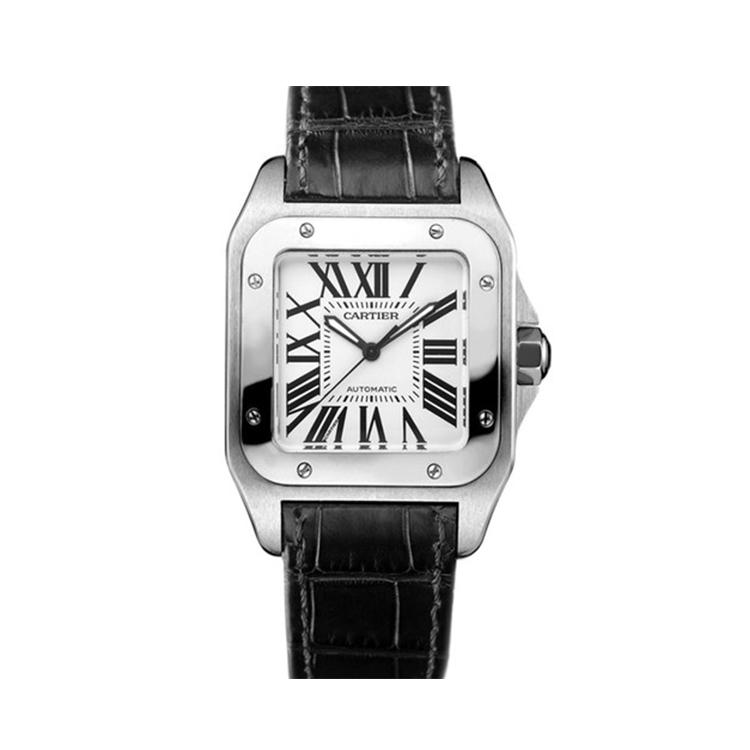瑞士 卡地亚(Cartier) 桑托斯系列  男士 机械表 W20106X8