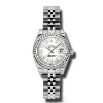 瑞士 劳力士(Rolex) 女装日志型系列 女士 机械表 179384-63130G