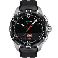 Tissot天梭瑞士官方正品腾智无界系列橡胶带石英表T121.420.47.051.00