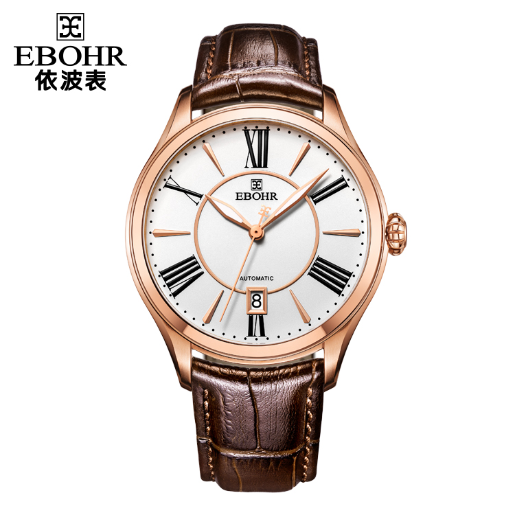 中国 依波表(EBOHR)复古时尚 男士 全自动机械表 50190133