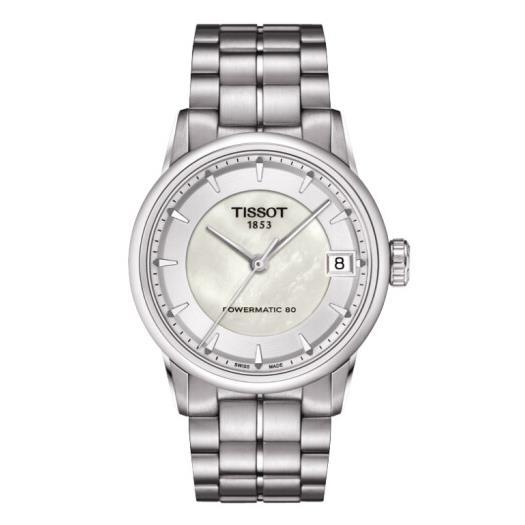 瑞士 天梭(Tissot) 豪致系列 女士 自动机械表 T086.207.11.111.00