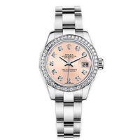 瑞士 劳力士(Rolex) 女装日志型系列 女士 机械表 179384G72130P