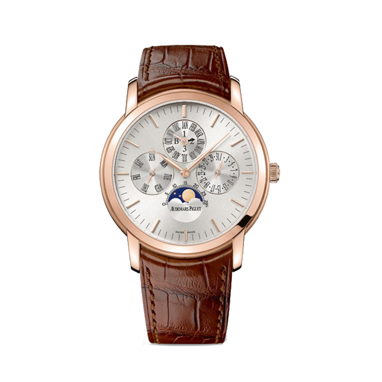 瑞士 爱彼(Audemars Piguet) JULES AUDEMARS系列 男士机械表 26390OR.OO.D088CR.01