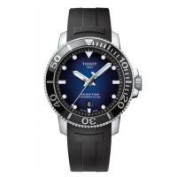 瑞士 天梭(Tissot)  海星潜水1000系列 男士 自动机械表 T120.407.17.041.00
