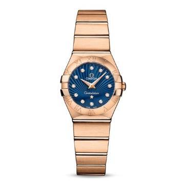 瑞士 欧米茄(Omega) 星座系列 女士 石英表 O123.50.24.60.53.001