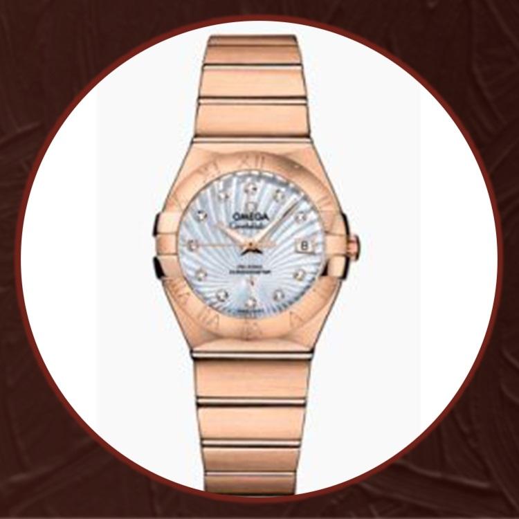 瑞士 欧米茄(Omega) 星座系列女士机械手表O123.50.27.20.55.001