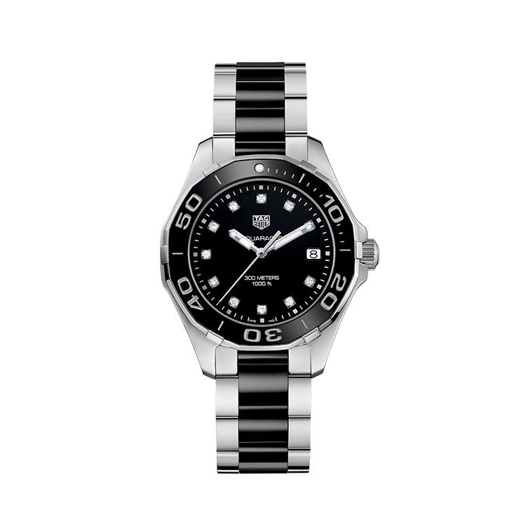 瑞士 泰格豪雅(TAG Heuer) 竞潜系列  女士 石英表 WAY131C.BA0913