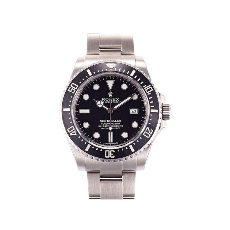 瑞士 劳力士(Rolex) 海使型系列  男士 机械表 116600-97400黑色点字