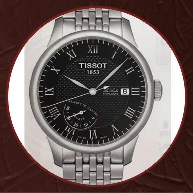 瑞士 天梭(Tissot) 力洛克系列男士机械表T006.424.11.053.00