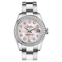 瑞士 劳力士(Rolex) 女装日志型系列 女士 机械表 179384-72130GPM