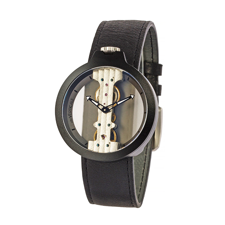 意大利attoVERTICALE起源系列男士女士时尚潮流正品机械V手表HYH6005