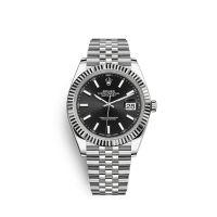 瑞士 劳力士(Rolex) 日志型系列 男士 机械表 126334-62610黑色條字