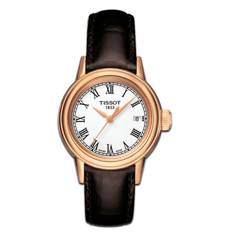 瑞士 天梭(Tissot) 卡森系列  女士 石英表 T085.210.36.013.00