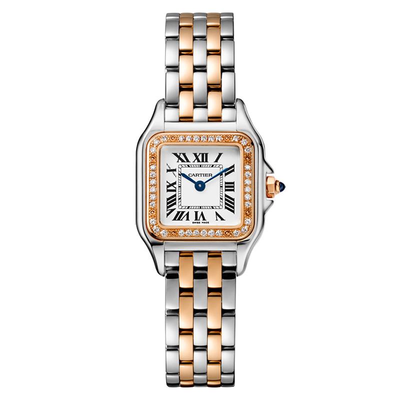 瑞士 卡地亚(Cartier) 猎豹系列 女士 石英表 W3PN0006