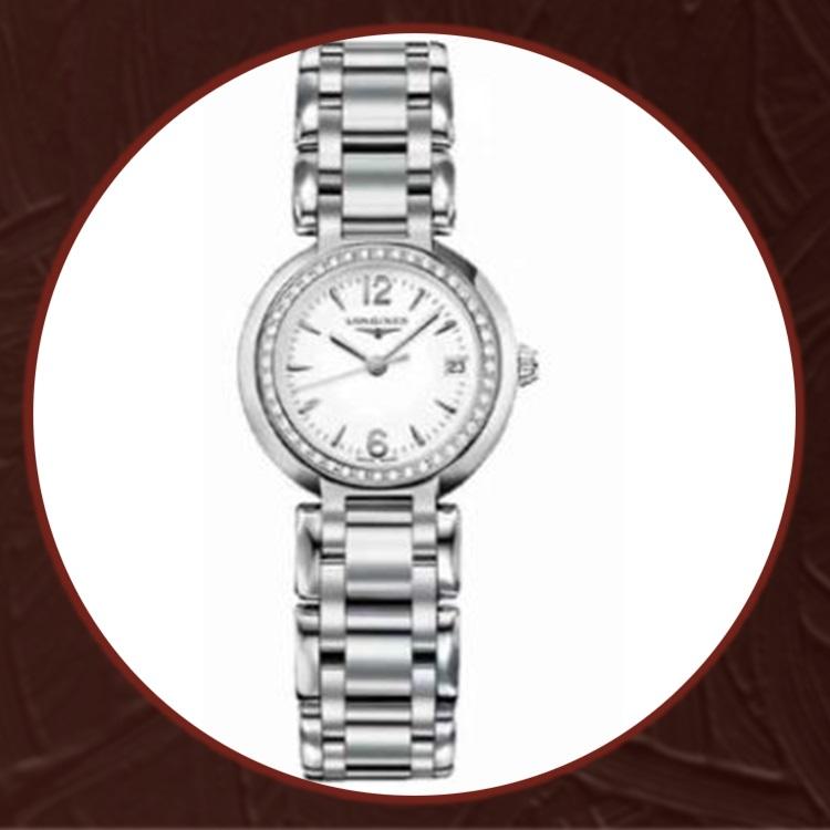 瑞士 浪琴(Longines) 心月系列女士石英手表L8.110.0.16.6