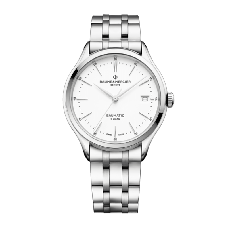瑞士 名士(Baume&Mercier) CLIFTON BAUMATIC系列 男士 自动机械表 MOA10400