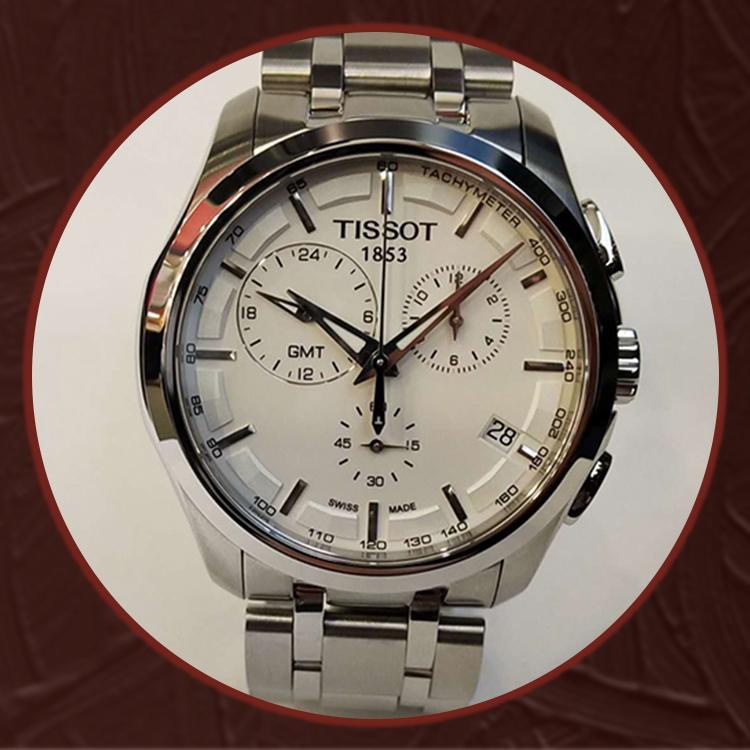 瑞士 天梭(Tissot) 库图系列男士石英表T035.439.11.031.00