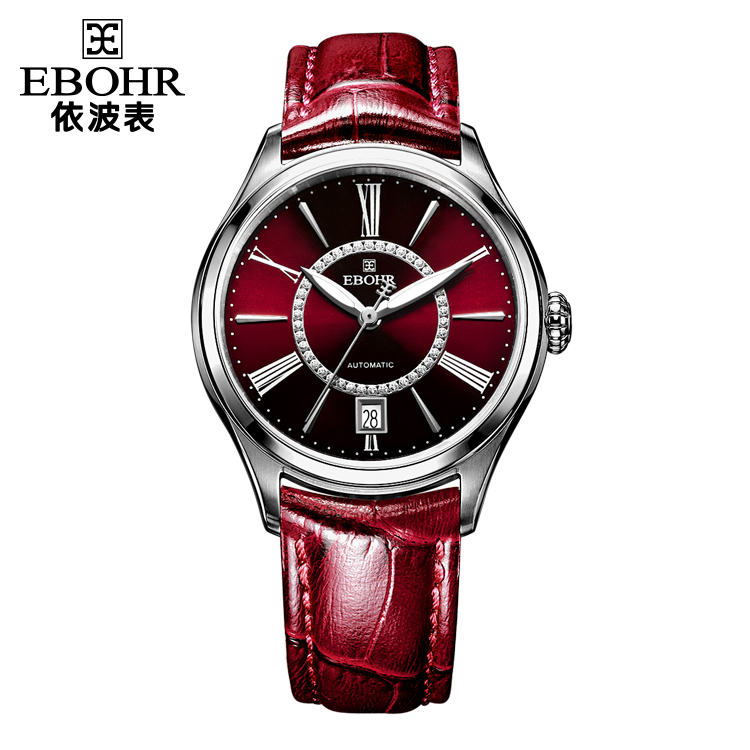 中国 依波表(EBOHR)复古时尚 女士 全自动机械表 50190249