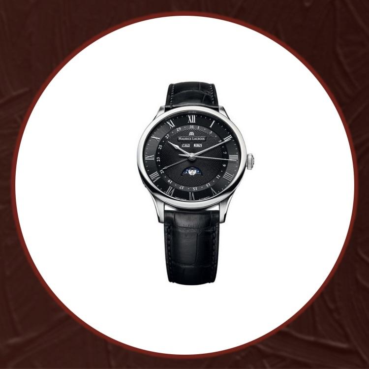 瑞士艾美典雅系列男士机械手表MP6607-SS001-310
