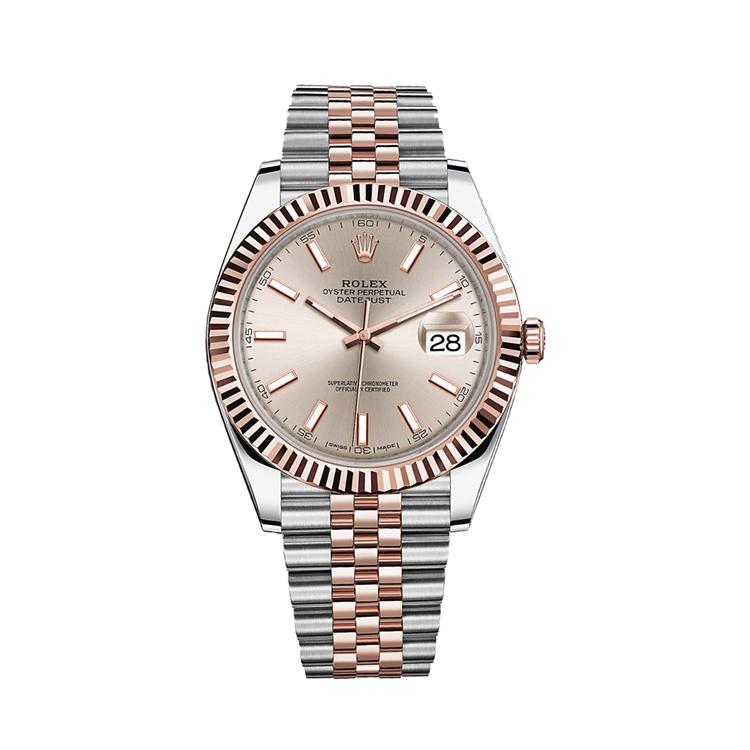 瑞士 劳力士(Rolex) 日志型系列  男士 机械表 126331-62611太阳灰色钻石字
