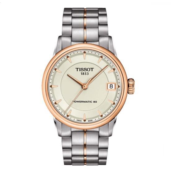 瑞士 天梭(Tissot) 豪致系列 女士 自动机械表 T086.207.22.261.01