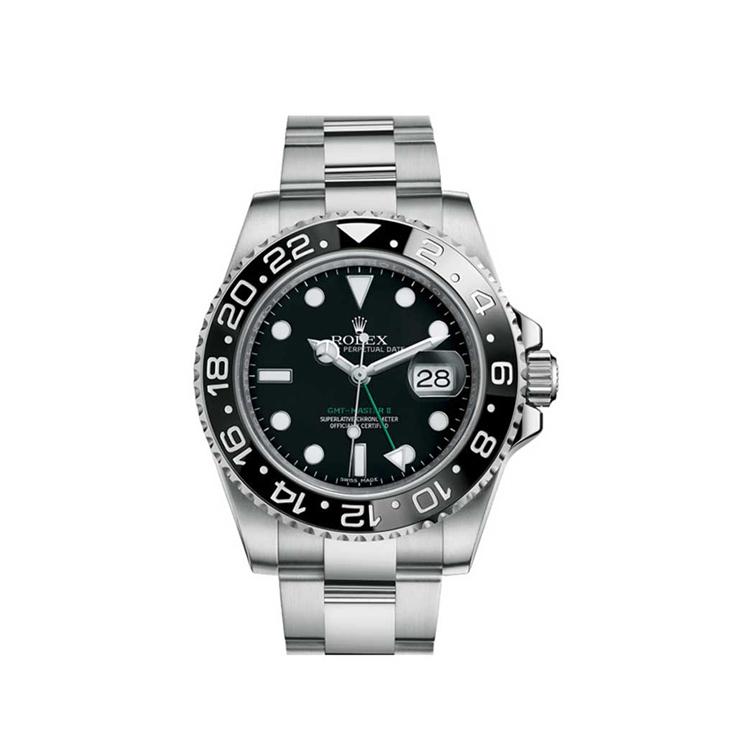 瑞士 劳力士(Rolex) 潜航者型系列  男士 机械表 116710-78200黑色点字
