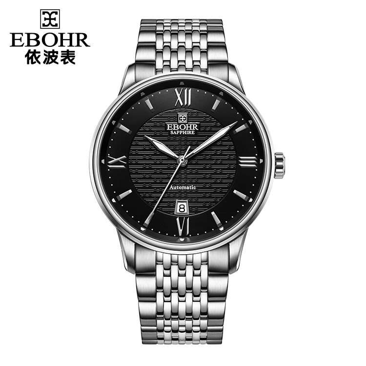 中国 依波表(EBOHR)商务简约 男士 全自动机械表 50940110