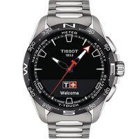 Tissot天梭瑞士官方正品腾智无界系列钛金属石英表黄晓明同款T121.420.44.051.00