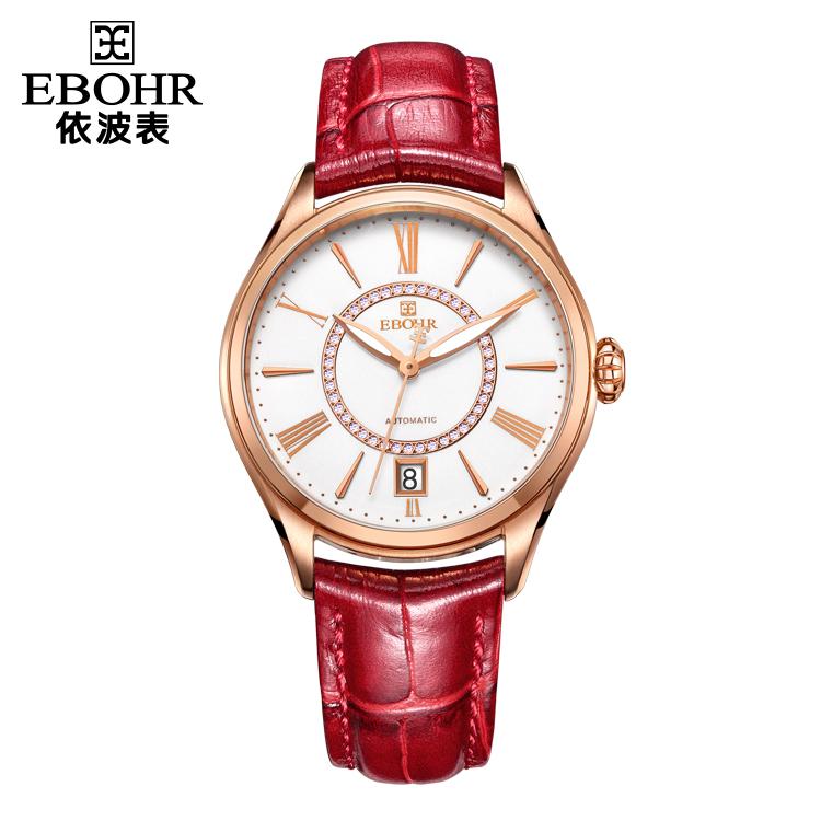 中国 依波表(EBOHR)复古时尚 女士 全自动机械表 50190140
