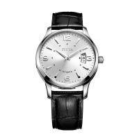 飞亚达(FIYTA)手表 卓雅系列机械男表白盘皮带DGA0008.WWB
