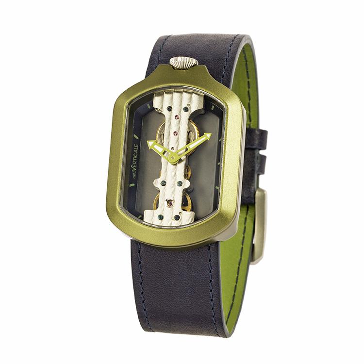 意大利attoVERTICALE方形新款男士女士时尚潮流正品机械V手表GLJ8001