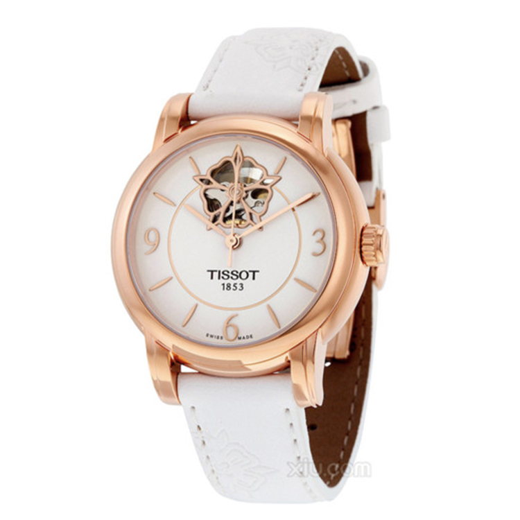瑞士 天梭(Tissot) 心媛系列  女士 机械表 T050.207.37.017.04