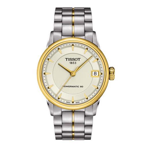 瑞士 天梭(Tissot) 豪致系列 女士 自动机械表 T086.207.22.261.00