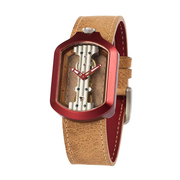 意大利attoVERTICALE方形新款男士女士时尚潮流正品机械V手表ZGH8006