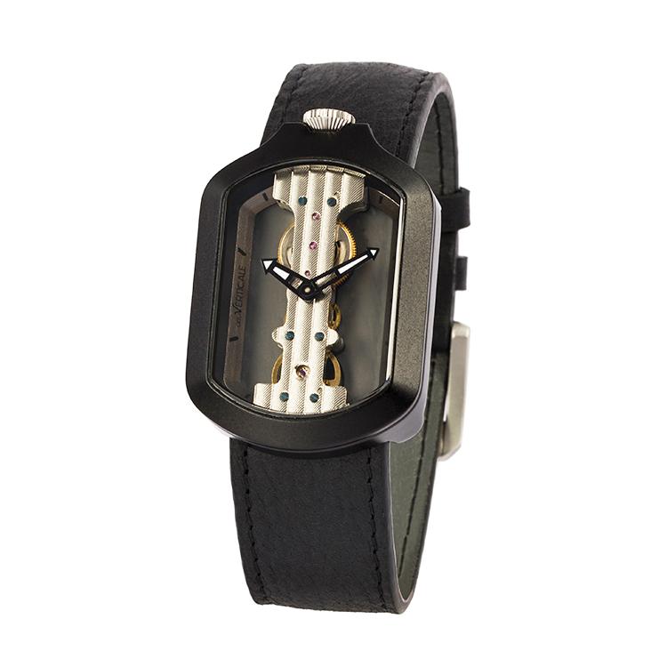 意大利attoVERTICALE方形新款男士女士时尚潮流正品机械V手表HYH8005