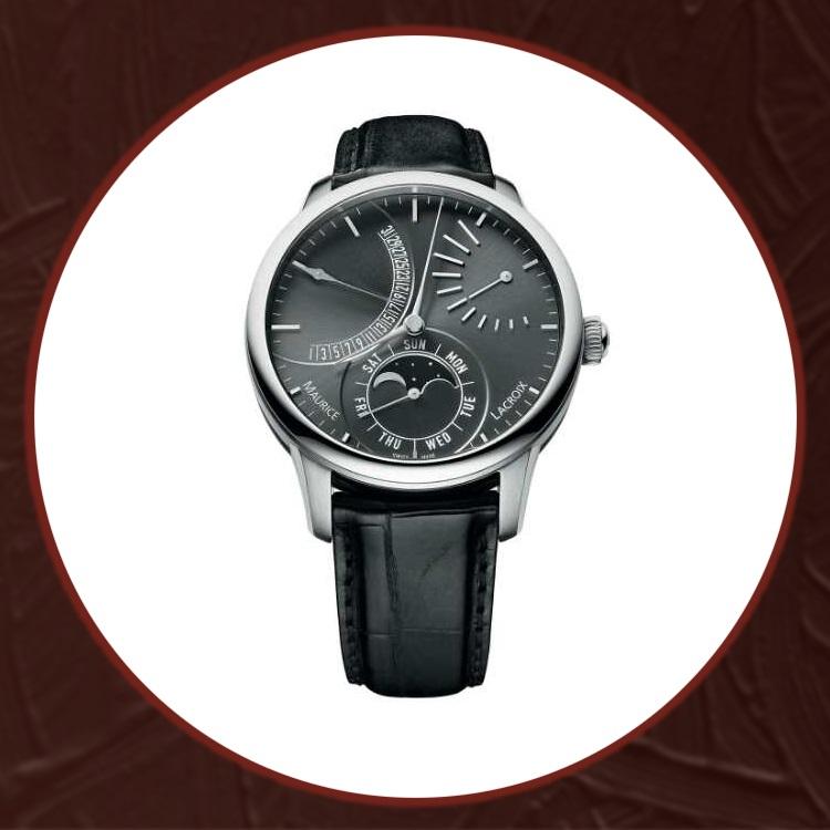 瑞士艾美匠心系列男士机械手表MP6528-SS001-130