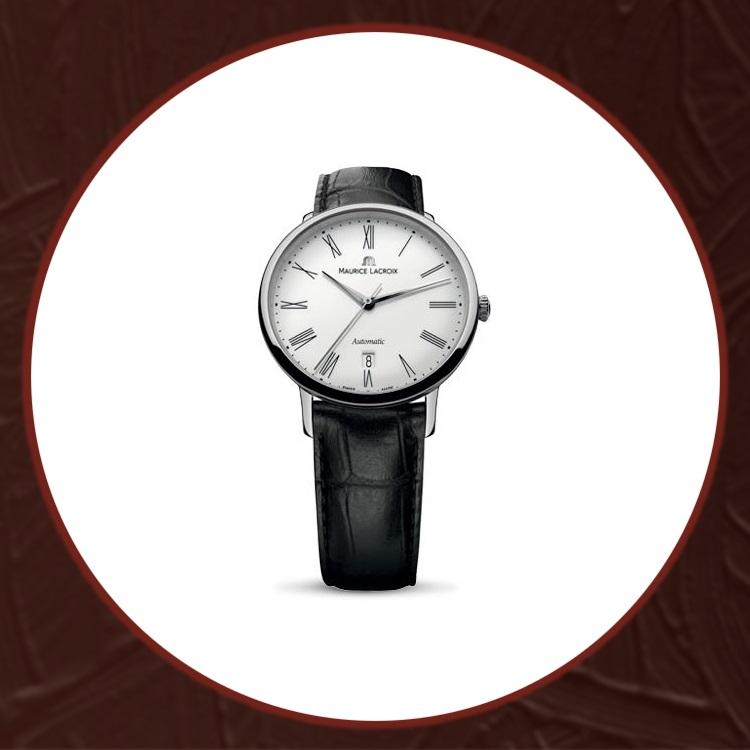 瑞士艾美典雅系列男士机械手表LC6067-SS001-110