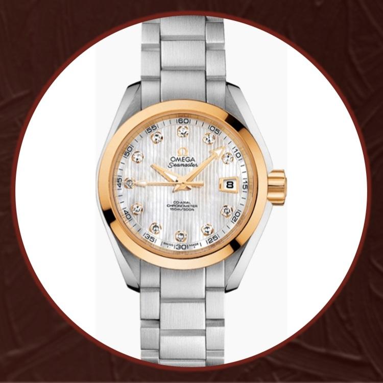 瑞士欧米茄(Omega)海马系列女士机械手表23120302055004