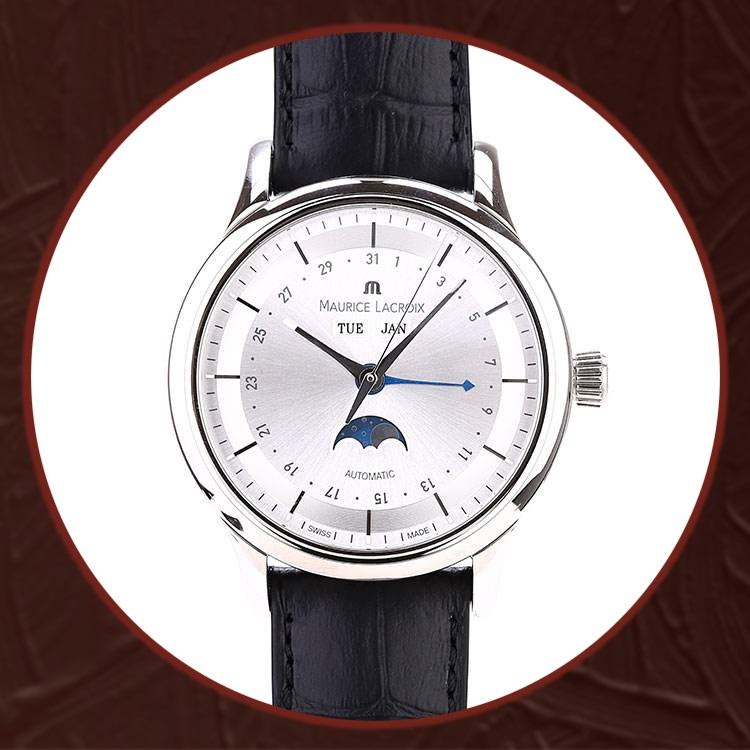 瑞士艾美典雅系列男士机械手表LC6068-SS001-131