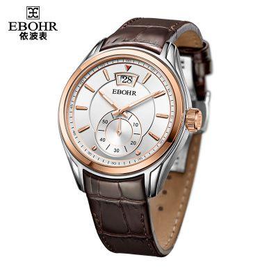 依波表(EBOHR)机械表皮带休闲时尚简约男款10950234