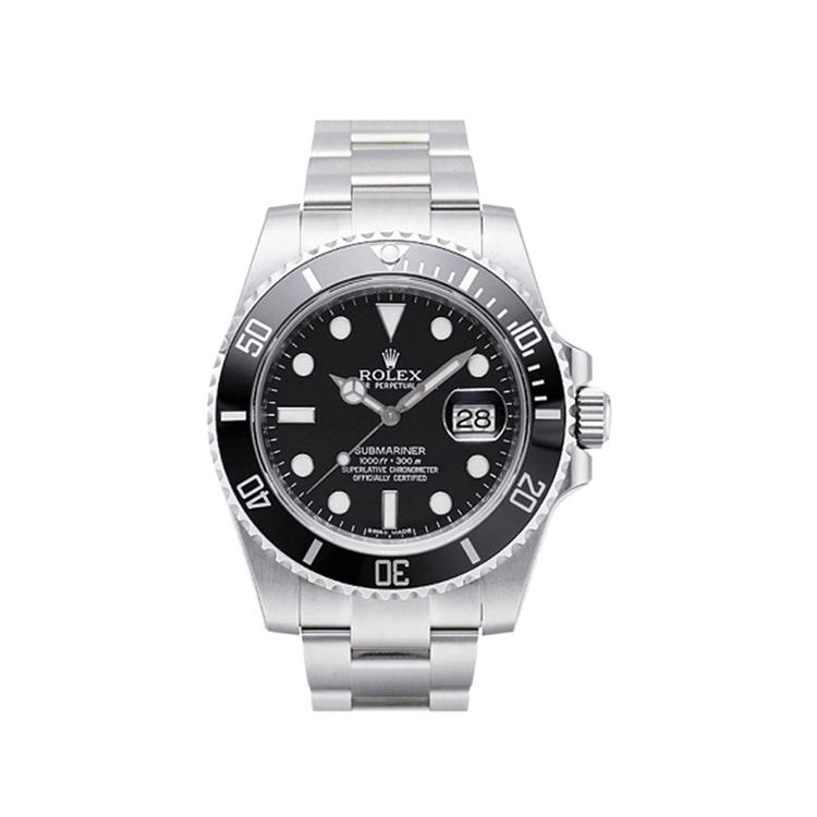 瑞士 劳力士(Rolex) 潜航者型系列  男士 机械表 116610-97200黑色点字