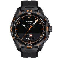 Tissot天梭瑞士官方正品腾智无界系列橡胶带石英表陈飞宇同款T121.420.47.051.04